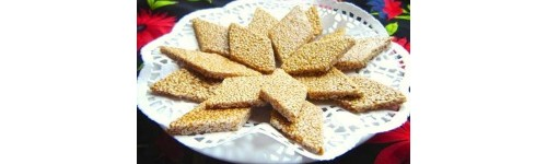 Sesame Bars, Νougats and Pies